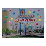 Tarjeta de cumpleaños feliz de Las Vegas 50.a en a