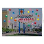Tarjeta de cumpleaños feliz de Las Vegas 50.a en r