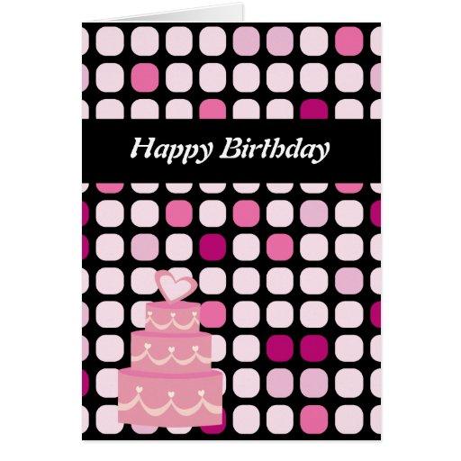 Tarjeta de cumpleaños feliz del punto del póker