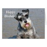 Tarjeta de cumpleaños miniatura de la foto de la p
