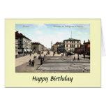 Tarjeta de cumpleaños - Munich, Alemania