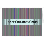Tarjeta de cumpleaños para el papá del Special de