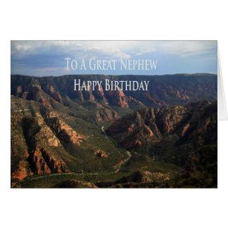 Tarjeta de cumpleaños para el sobrino