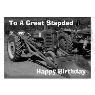 Tarjeta de cumpleaños para el Stepdad