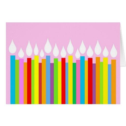 Tarjeta de cumpleaños - para ella