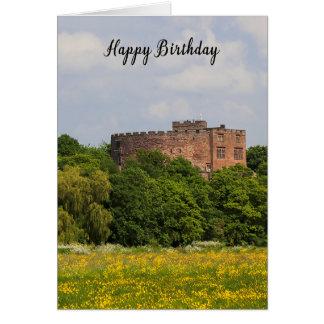 Tarjeta de cumpleaños que ofrece el castillo de