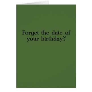 Tarjeta de cumpleaños tardía de Sarah Palin