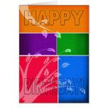 Tarjeta de cumpleaños - tarjeta de cumpleaños del