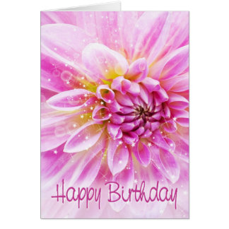 Tarjeta de cumpleaños - tiempo emocionante del fie