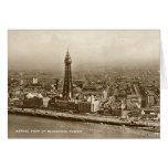 Tarjeta de cumpleaños - torre de Blackpool