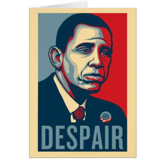 Tarjeta de cumpleaños triste de Obama
