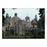 Tarjeta de Desierto de los Leones Monastery
