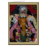 Tarjeta de Diwali de la foto de Ganesh - retrato
