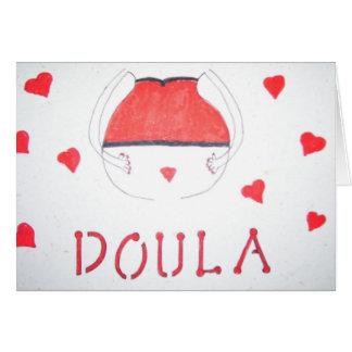 Tarjeta de Doula