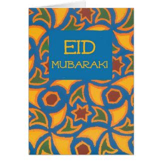 Tarjeta de Eid - diseño islámico