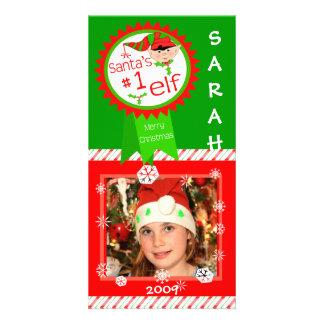 Tarjeta de encargo de la foto del bebé/de los niño tarjetas fotograficas