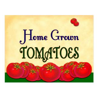 Tarjeta de encargo de la receta del tomate de postales