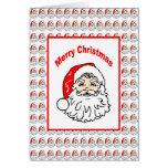 Tarjeta de encargo de Santa del navidad