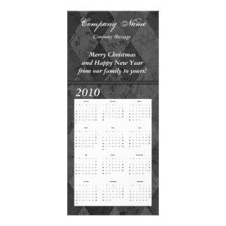 Tarjeta de encargo del estante del calendario, lonas personalizadas