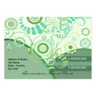 Tarjeta de encargo del florista/del otro sector tarjetas personales