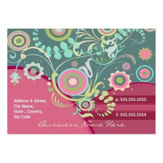 Tarjeta de encargo del florista/del otro sector plantillas de tarjeta de negocio