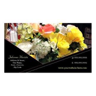 Tarjeta de encargo del florista/del otro sector tarjeta de visita