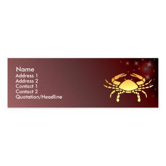 Tarjeta de encargo del perfil de la muestra del zo plantillas de tarjetas personales