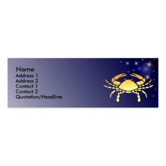 Tarjeta de encargo del perfil de la muestra del zo tarjetas de negocios