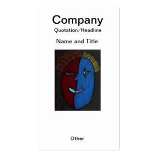 Tarjeta de encargo inspirada del pendiente/de visi plantilla de tarjeta de negocio