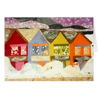tarjeta de felicitación 5X7 - sexta nieve de la