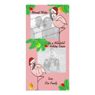 Tarjeta de felicitación alegre de la foto de los f tarjetas personales con fotos