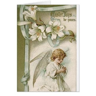 Tarjeta de felicitación: Alegría de Pascua