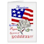 tarjeta de felicitación americana