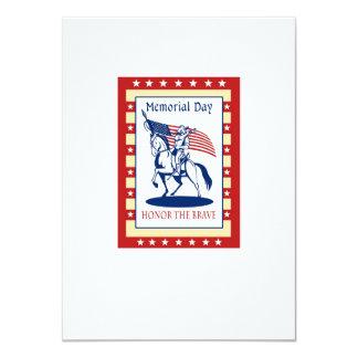 Tarjeta de felicitación americana del poster del comunicado personalizado