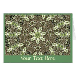 Tarjeta de felicitación - arte 1193 del fractal