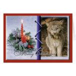 Tarjeta de felicitación canadiense del navidad del