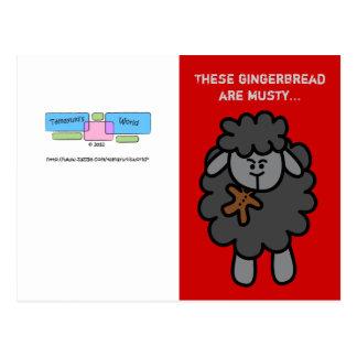 Tarjeta de felicitación clasificada muñeca del nav tarjetas postales