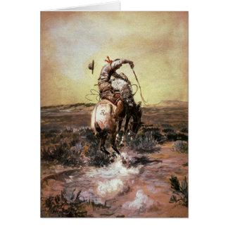 Tarjeta de felicitación con la pintura de Charles