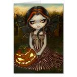 """Tarjeta de felicitación crepuscular de """"Halloween"""""""