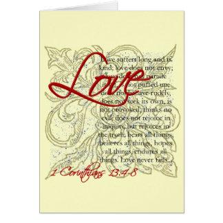 Tarjeta de felicitación cristiana, tarjeta del cri