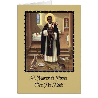 Tarjeta de felicitación de 0029 San Martín de