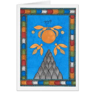Tarjeta de felicitación de 19 The Sun