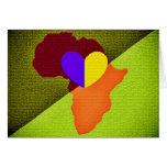 Tarjeta de felicitación de África