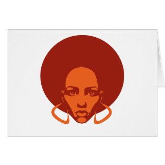 Tarjeta de felicitación de Afrolicious