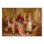 Tarjeta de felicitación de Betsy Ross