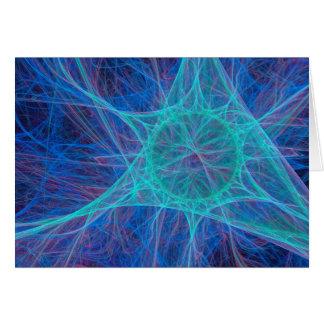 Tarjeta de felicitación de centro de la sinapsis