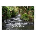 Tarjeta de felicitación de Costa Rica