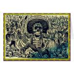 Tarjeta de felicitación de Dia De Los Muertos