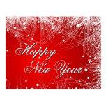 Tarjeta de felicitación de encargo del Año Nuevo Postales