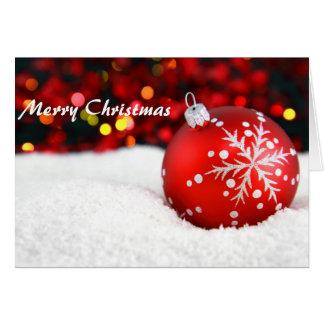 Tarjeta de felicitación de encargo del navidad